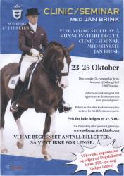 Clinic/Seminar med Jan Brink 23. - 25. oktober 2009